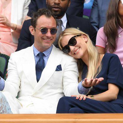 Jude Law and Phillipa Coan.