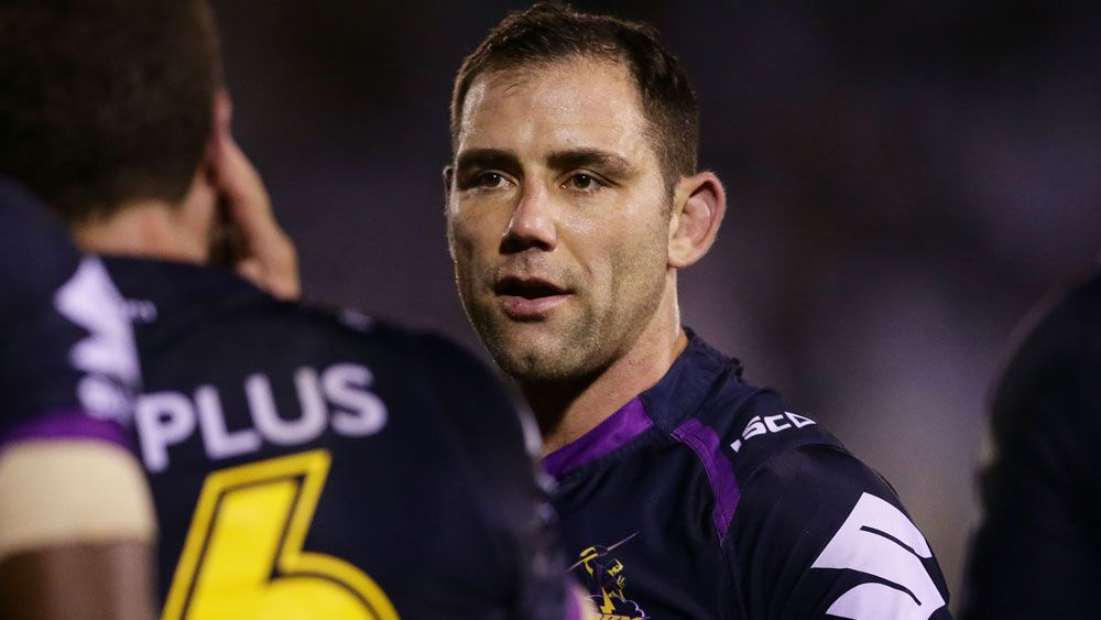 Melbourne Storm captain Cameron Smith in doubt for Brisbane Broncos match with injury