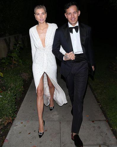 Jessica Hart and James Kirkham