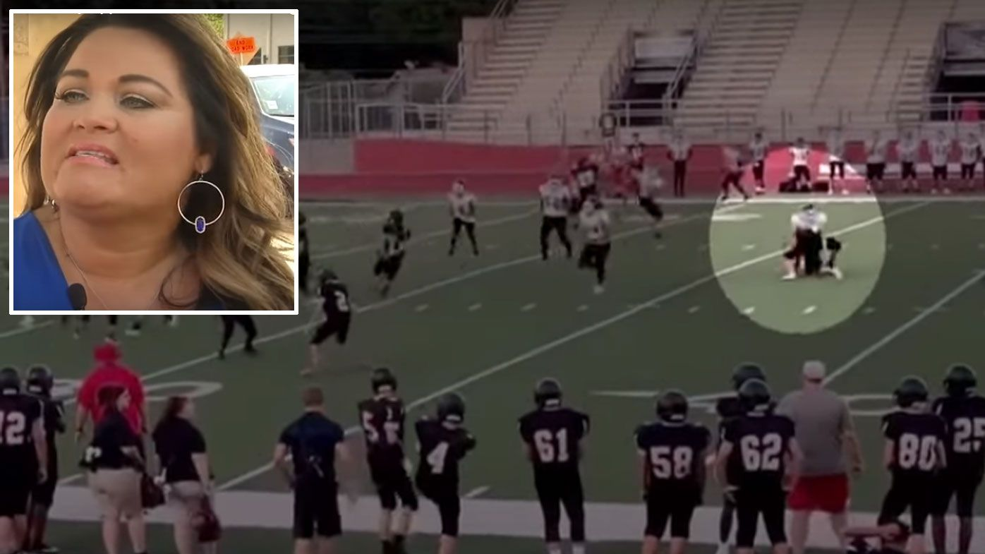 Mum's horror, nation's outrage after sickening high school football assault