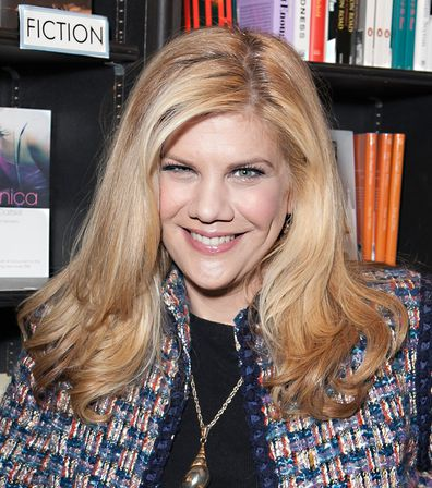 Kristen Johnston, book signing, March 18, 2013, West Hollywood, California.