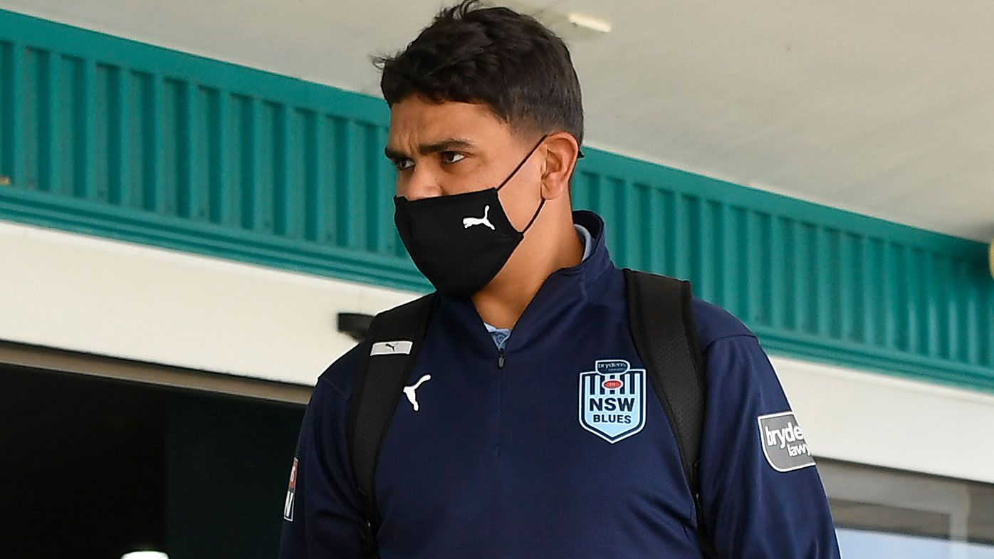 Latrell Mitchell of the Blues