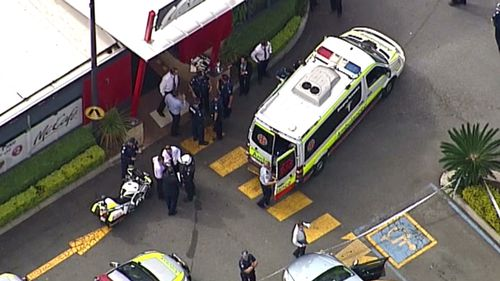 Helensvale is on the north side of the Gold Coast. (9NEWS)