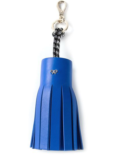 "<p><a href=""http://www.farfetch.com/au/shopping/women/anya-hindmarch-tassel-keyring-item-10909208.aspx?storeid=9560&amp;ffref=lp_54_3_"" target=""_blank"">Keyring, $312.27, Anya Hindmarch at Farfetch</a></p>"