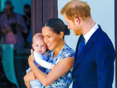 Prince Harry Meghan Markle Archie Harrison Mountbatten Windsor
