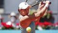 Barty cracks up over funny fail in Madrid win