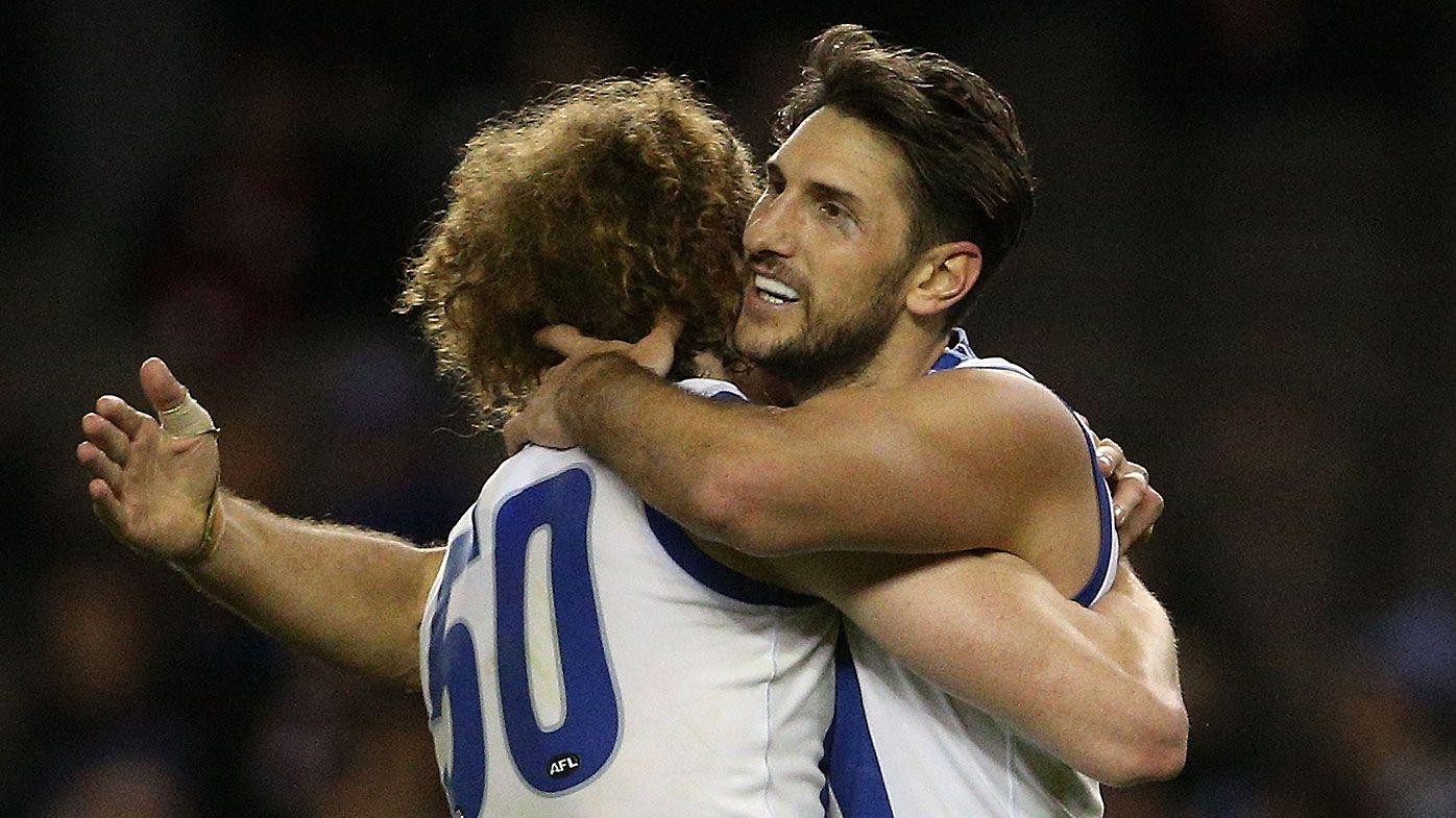 Kangaroos give Jarrad Waite perfect farewell with win over St Kilda