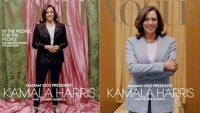 Kamala Harris Vogue covers