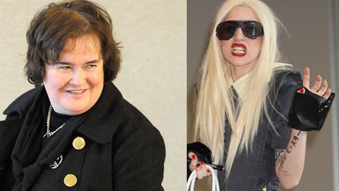 Lady Gaga, Susan Boyle