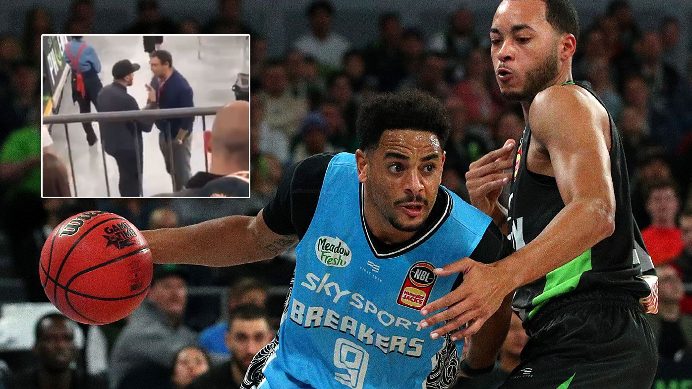 NZ Breakers owner Matt Walsh punished for courtside spray at NBL boss