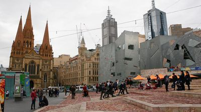 95,000 people flocked to Melbourne last year, 10,000 more than Sydney.<p></p><p></p>