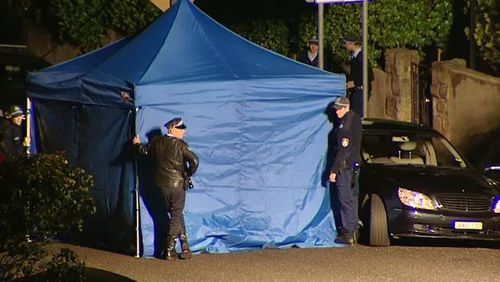 The murder of the high-profile businessman rocked Sydney. Picture: 9NEWS