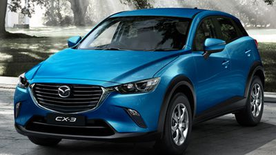 The Mazda CX-3 Neo was rated the best value Baby SUV, with the Peugeot 2008 Active coming second, and the Ford EcoSport Ambiente coming third. (Supplied)
