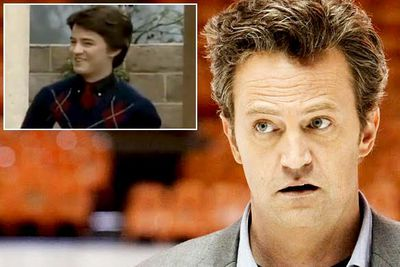 <B>You know him as...</B> The sarcastic, insecure, weight-fluctuating Chandler Bing from <I>Friends</I>.<br/><br/><B>Before he was famous...</B> Matthew Perry has been working as an actor for <I>ages</I>. Way back in 1985 he was in an episode of <I>Charles in Charge</I>, as a kid who mistakenly showed up for a date with one of the main characters. Matthew also appears in '80s sitcoms like <I>Growing Pains</I>and <I>Who's the Boss?</I>.