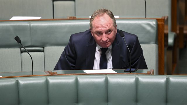 Barnaby Joyce goes on tirade during live radio interview