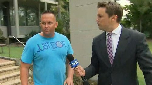 Matthew Scown was convicted of manslaughter over Tyrell Cobb's death. (9NEWS)