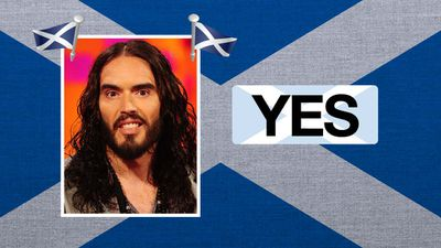 """Russell Brand, comedian and actor: """"I like things getting smaller and more devolved - more power for the people."""""""