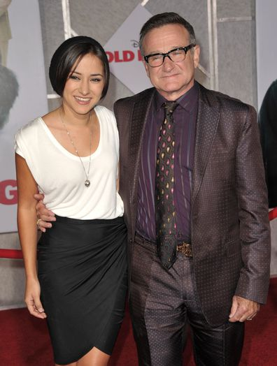 Zelda Williams, Robin Williams, premiere, El Capitan Theatre, 2009