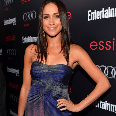 Meghan Markle attends the pre-Screen Actors Guild Awards party, January 2013