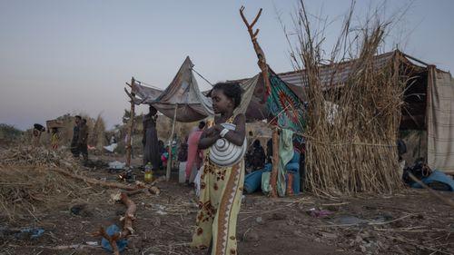 Refugee camp, Sudan