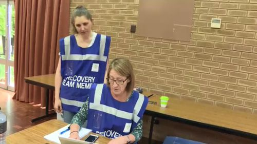 An evacuation centre is now open in Myrtleford. (9NEWS)