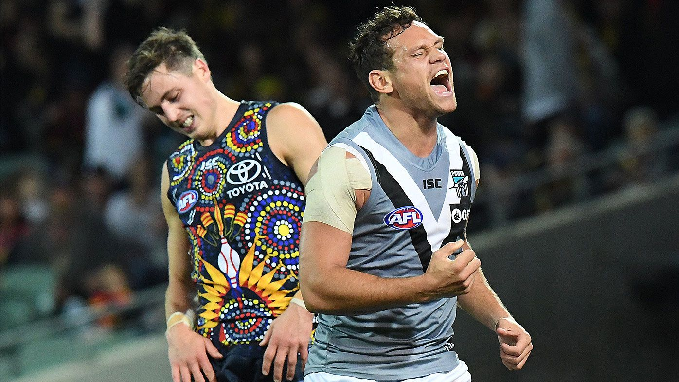 Port Adelaide survive last-minute Travis Boak injury blow to dominate Showdown 47