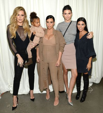 Overnight in New York, Kanye West showcased his Yeezy season two line and, of course, dropped a new song. There to witness his fashion week presentation was an all-star audience of industry heavy-weights, rappers, models and the Kardashian Klan. #Kanye4president