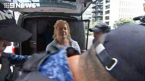 Sainsbury has been a regular sight at court since her arrest.