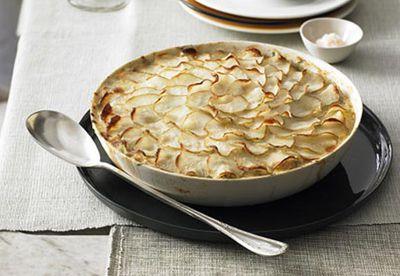 Snapper, fennel and potato pot pie