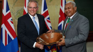 Australian Prime Minister Scott Morrison's attitude towards climate change has caused friction between the Federal Government and Fiji.