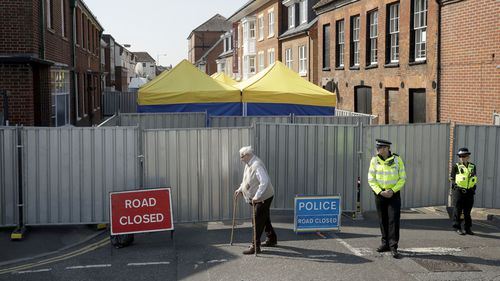 """The police investigation has been described as """"one of the most complex ever faced"""". Picture: AP"""