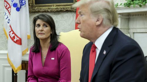Nikki Haley served as Donald Trump's Secretary to the UN.