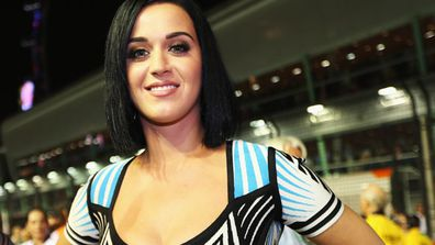 """Katy's woes stemmed from school, but she overcame them. <P>""""I remember really vividly kneeling by my bed as a 9-year-old, saying my prayers, and asking God to give me boobs that were so big that if I laid on my back I wouldn't be able to see my feet,"""" Katy said. """"Eventually that request was granted.""""<P>""""In middle school they called me 'over the shoulder boulder holder',"""" Perry tweeted. """"Now they call me hot.""""<P><a href=""""http://celebrities.ninemsn.com.au/antibullying """">Take our anti-bullying quiz and you could win an iPad!</a>"""