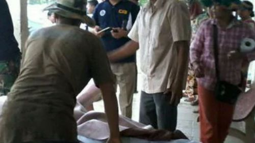 Two men including an Australian are believed to have been killed in the blast in Cambodia. (Supplied)