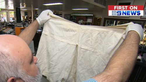 Ben Pike said he hopes his big find will lead to a selling price fit for a king (or queen). (9NEWS)