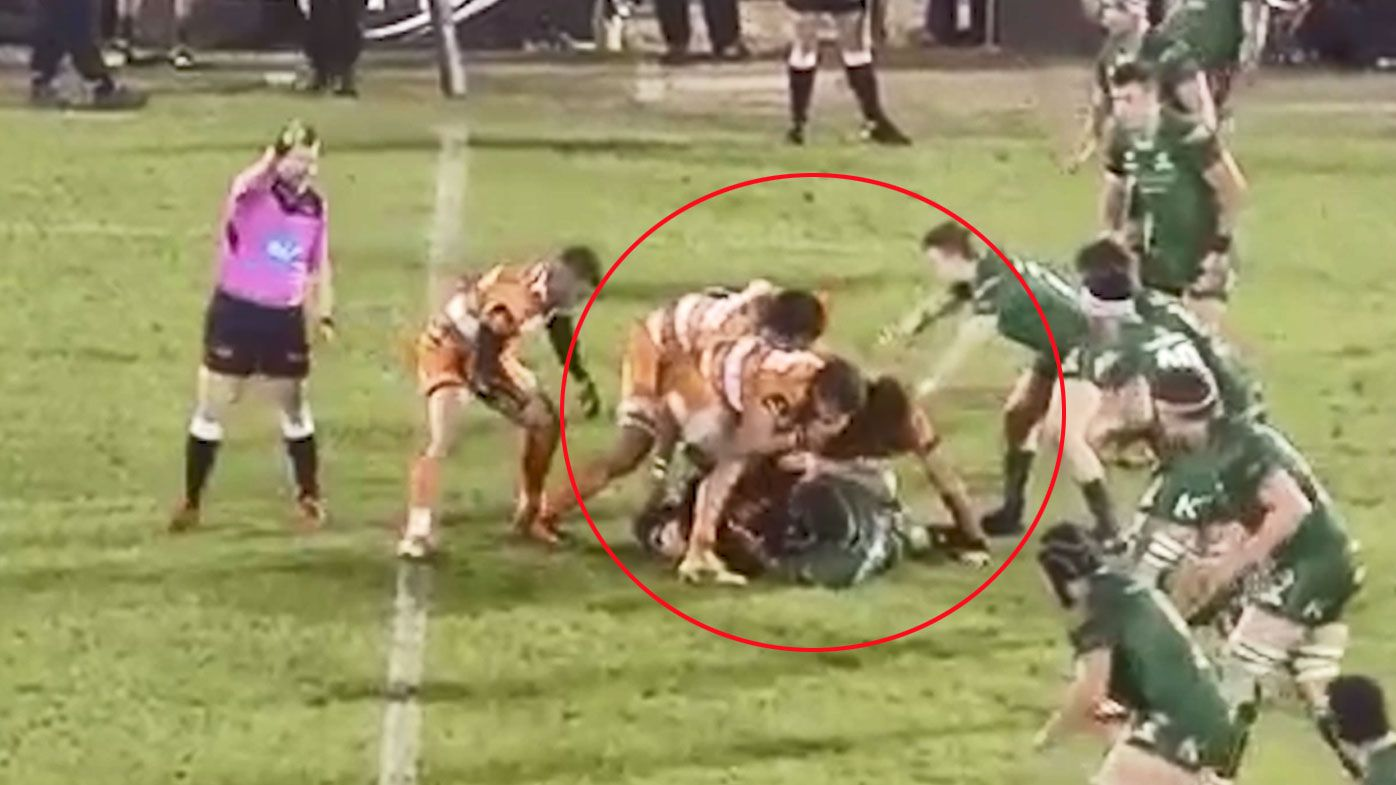 Cheetahs flanker Nico Lee caught in 'foul play'