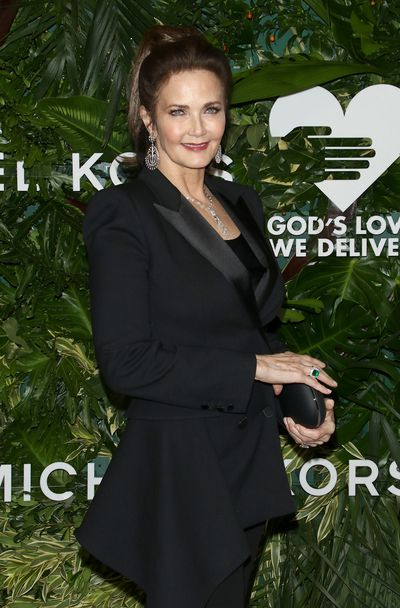 Lynda Carter at the Annual God's Love We Deliver Golden Heart Awards in New York City