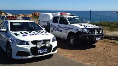 Local police, a fixed-wing plane, jet skis and helicopters are combing the area in south-west WA. (9NEWS)