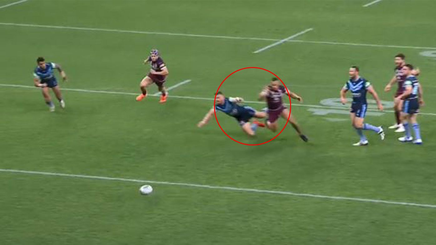 'You have to be 100 percent certain': Origin legends at odds over controversial penalty try