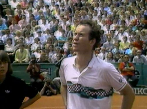 "McEnroe is perhaps most famous for his on-court outbursts and blow ups, and for bringing his signature phrase into the public vernacular: ""You cannot be serious!"""