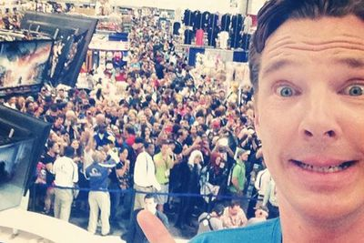 Benedict gets amongst the con chaos!