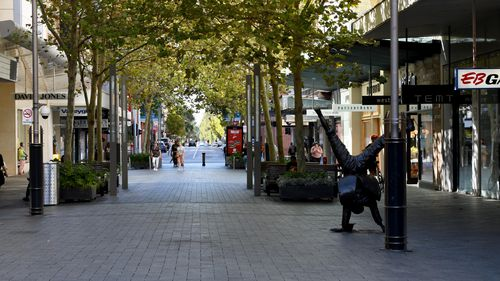 Perth's CBD will once more be deserted after Premier Mark McGowan announced a five-day lockdown.