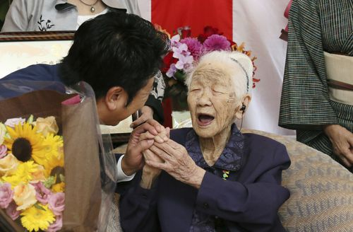 Japan's Kane Tanaka has taken out the title of oldest person on Earth, celebrating her 116th birthday.