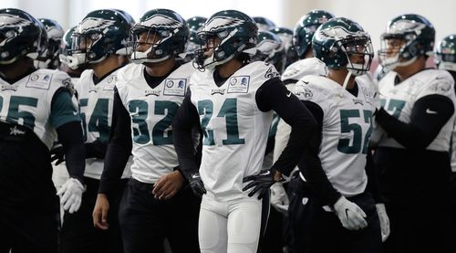 The Philadelphia Eagles won 11 games in a row this season. .(AAP)