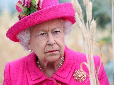 Queen Elizabeth death of Prince Philip April 9