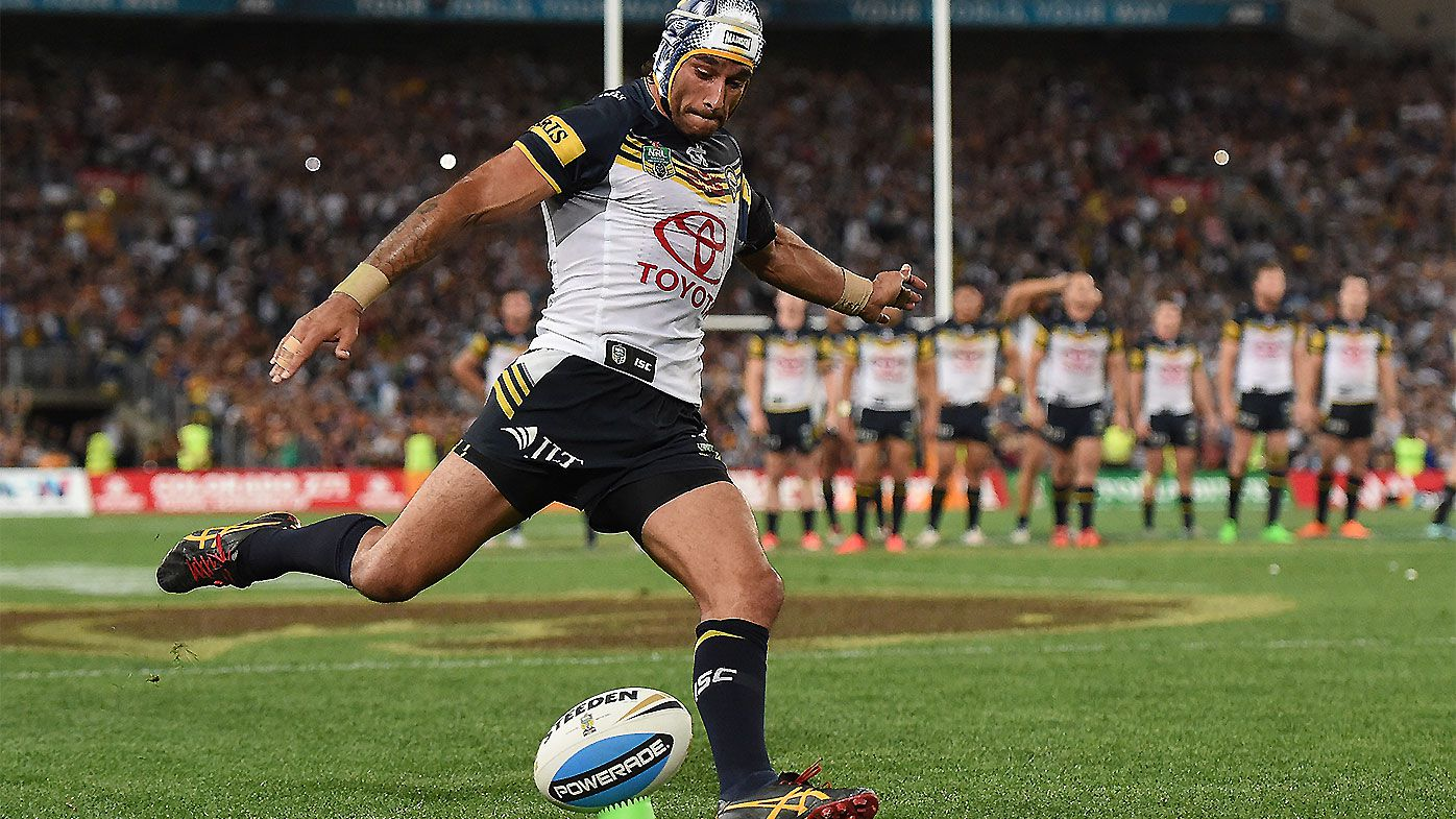 Johnathan Thurston gets emotional reminiscing on 2015 NRL grand final