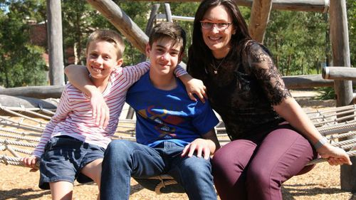 Vanessa Sellick's two sons, Harrison (centre) and Austin (left) were both prescribed Singulair. (Photo: Vanessa Sellick)
