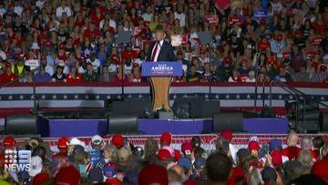 Donald Trump at Florida rally July 2021.