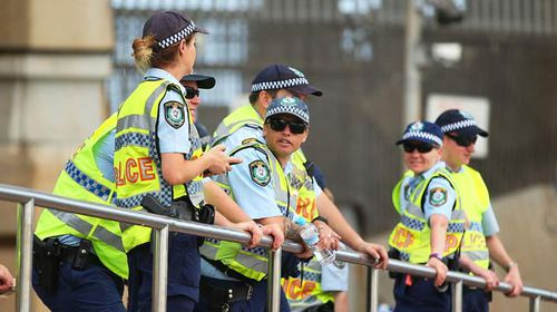 NSW Police given option to hide name badges to protect identity