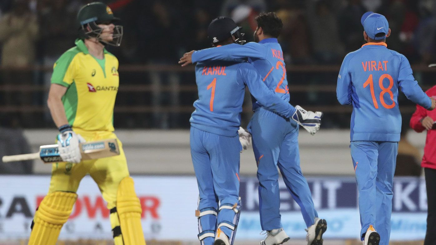 India plunder Aussies to clinch ODI series, despite century from Steve Smith